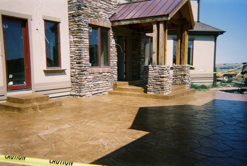 Flagstone-Stained